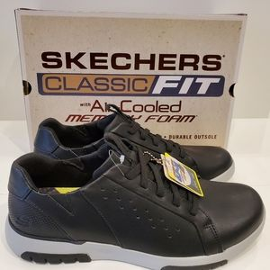 Sketchers Classic Fit Air-cooled casual shoes 👞